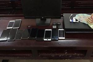Nghệ An: Triệt xóa đường dây đánh bạc hơn 2,5 tỉ đồng qua internet
