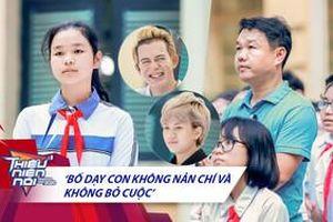 Bảo Hân - Quang Anh ngưỡng mộ ông bố 8 năm trời đội mưa nắng đưa con gái đi học đàn