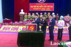 Lào Cai: Đảng bộ xã đầu tiên tổ chức thí điểm bầu trực tiếp bí thư tại Đại hội nhiệm kỳ 2020-2025