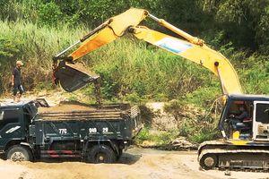 Xã 'bật đèn xanh' cho doanh nghiệp khai thác cát sông La Tinh