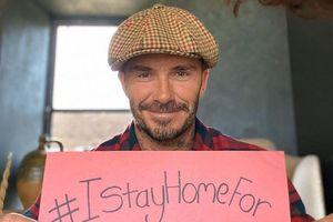 David Beckham và nhiều nghệ sĩ tham gia phong trào ở nhà tránh dịch