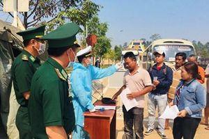 Các đơn vị quân đội tiếp nhận và chăm sóc chu đáo công dân tại khu cách ly tập trung