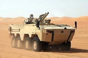 UAE đưa xe chiến đấu bộ binh mới đi tập trận