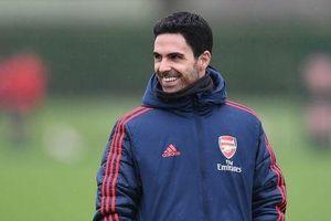 Arsenal nhận tin vui từ HLV Mikel Arteta