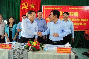 Hai thôn vùng biên Thừa Thiên - Huế chính thức được bàn giao cho tỉnh Quảng Trị quản lý