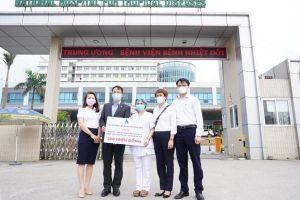 Delta Group ủng hộ 600 triệu đồng tri ân cán bộ y tế tuyến đầu chống dịch COVID-19