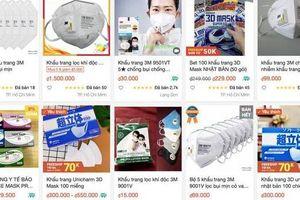 Gần 14.000 gian hàng online bán đồ phòng dịch bị xử lý