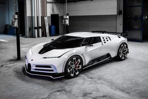 Ronaldo mua siêu xe Bugatti giá 9 triệu USD