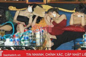 57 đối tượng từ Nghệ An sang Hà Tĩnh 'phê' ma túy!