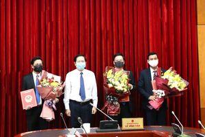 Bộ Nội vụ bổ nhiệm lãnh đạo một số đơn vị
