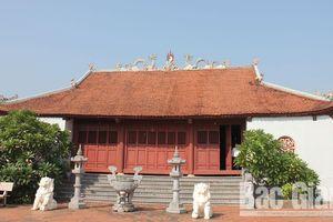 Ngôi đình cổ thờ Phật hoàng Trần Nhân Tông