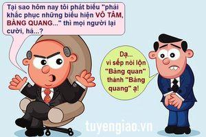 Nên cẩn trọng hơn khi dùng từ Hán Việt