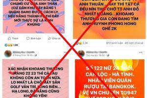 Xử lý một 'KOL' nổi tiếng mạng xã hội vì đăng tải hơn 200 thông tin thất thiệt về dịch COVID-19
