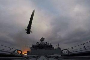 Ba chiến hạm Nga thị uy diệt mục tiêu Địa Trung Hải