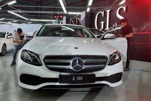 Thị trường ô tô: Giá xe Mercedes-Benz tại Việt Nam hiện giờ ra sao?