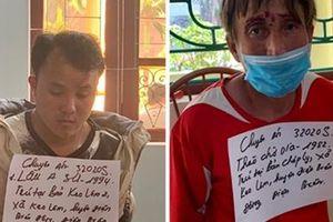 2 đối tượng ở Điện Biên bị bắt cùng 2 bánh heroin