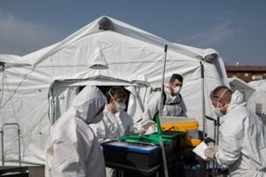 Số ca tử vong do virus corona tại Italia đã giảm