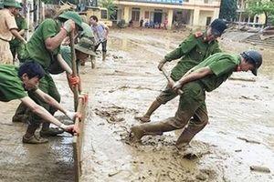 Lực lượng Công an chủ động ứng phó với mưa lớn, giông, lốc
