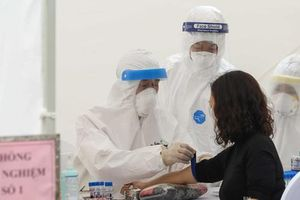 Phát hiện 3 mẫu test nhanh có kháng thể virus tại trạm xét nghiệm gần 'ổ dịch' Bệnh viện Bạch Mai
