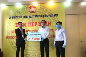 TP. Hồ Chí Minh: Nhiều doanh nghiệp tiếp tục chung tay ứng phó dịch Covid-19