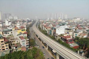 Dừng công trường xây dựng tuyến đường sắt đô thị Nhổn - Ga Hà Nội trong 15 ngày