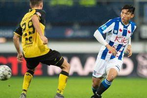 Không có Văn Hậu trong số 5 cầu thủ Heerenveen sẽ chia tay