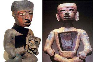 Kỳ bí bức tượng người rỗng bụng tại thành phố của các vị thần