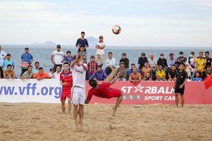 Bóng đá bãi biển: Chuẩn bị cho mùa giải mới
