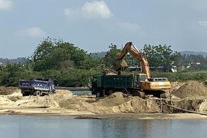 Phản hồi sau bài báo của PLVN: Bí thư Thành ủy Quảng Ngãi 'lệnh' xử lý khai thác cát trái phép
