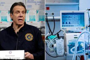 Trung Quốc quyên tặng 1.000 máy thở cho bang New York