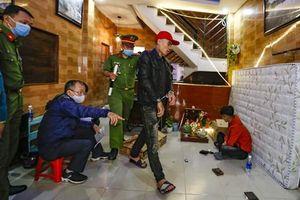 Bắt nhóm thanh niên thuê nhà sử dụng ma túy, tàng trữ 'kho' đao kiếm