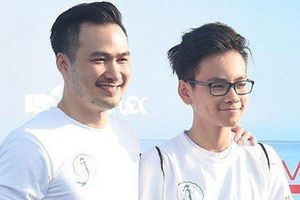 Diễn viên Chi Bảo hạnh phúc đón con trai về nhà sau 14 ngày cách ly