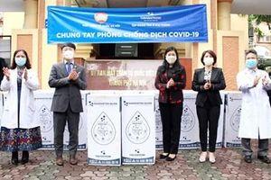 Tiếp nhận gần 5,5 tỷ đồng tiền và hiện vật ủng hộ phòng, chống dịch COVID-19