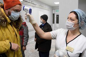 Nga tăng kỷ lục 1.154 ca nhiễm Covid-19