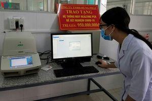 Lâm Đồng tiếp nhận máy xét nghiệm virus SARS-CoV-2