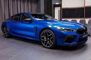 Ngắm xe nhà giàu BMW M8 Competition Gran Coupe màu độc