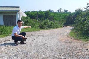 Tiếp nghi vấn chấm thầu công trình tại Quảng Bình: Tổ trúng thầu có dấu hiệu hợp thức hóa hồ sơ