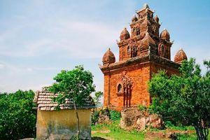 Huyền tích về tòa tháp Chăm duy nhất thờ vị Vua được phong thần