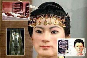 Choáng ngợp với nhan sắc mỹ nhân cổ đại Trung Quốc phục dựng từ xác ướp