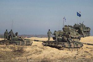 Bất chấp đại dịch COVID-19, NATO tập trận đa quốc gia tại Latvia