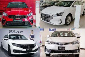 Phân khúc xe hạng C tháng 3/2020: Honda Civic vượt Hyundai Elantra
