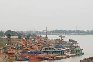 Bãi tập kết vật liệu trái phép lộng hành ở Bắc Ninh: Biết nhưng không xử lý