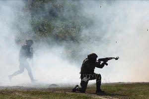 NATO tập trận kéo dài 6 ngày tại Latvia