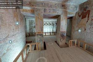 Tham quan miễn phí lăng mộ Ai Cập qua thực tế ảo