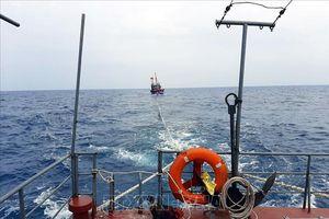 Bộ đội Biên phòng tỉnh Bà Rịa - Vũng Tàu bàn giao thuyền viên người Philippines về nước