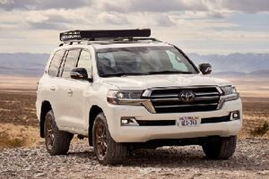 Cận cảnh Toyota Land Cruiser Heritage Edition giới hạn 1200 chiếc