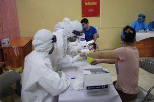 894 mẫu xét nghiệm COVID-19 tại 4 chợ đầu mối Hà Nội đều âm tính
