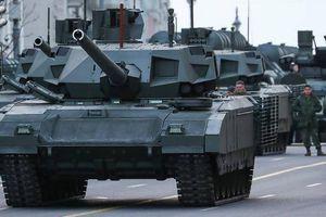 Nga xác nhận thử nghiệm xe tăng T-14 Armata tại Syria