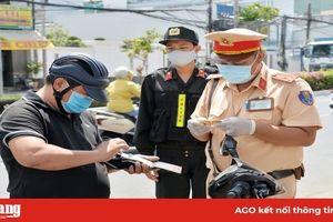 Ra quyết định xử phạt 850 trường hợp vi phạm trật tự an toàn giao thông