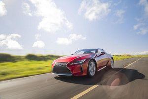 Lexus LC Coupe 2021 ra mắt, vẻ đẹp khỏe khoắn thể hiện đẳng cấp